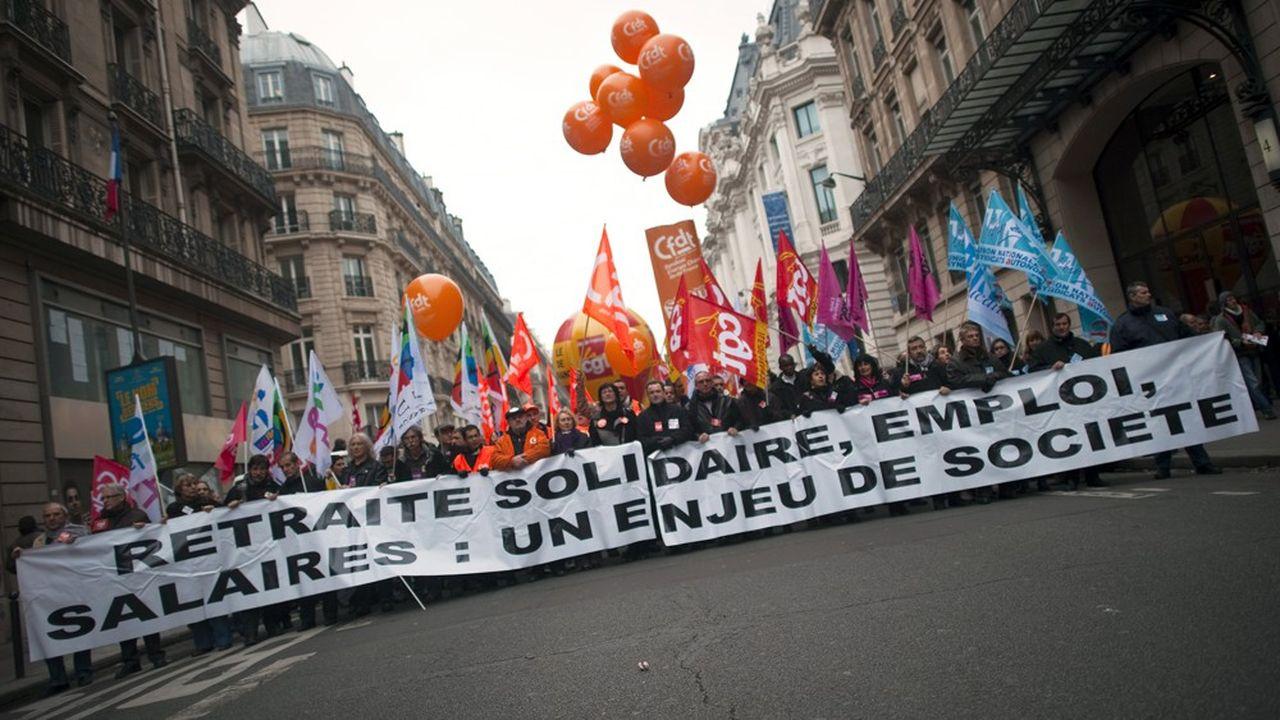 Le mouvement de contestation de la réforme des retraites de 2010 avait donné lieu à 14 journées d'action entre mars et novembre.