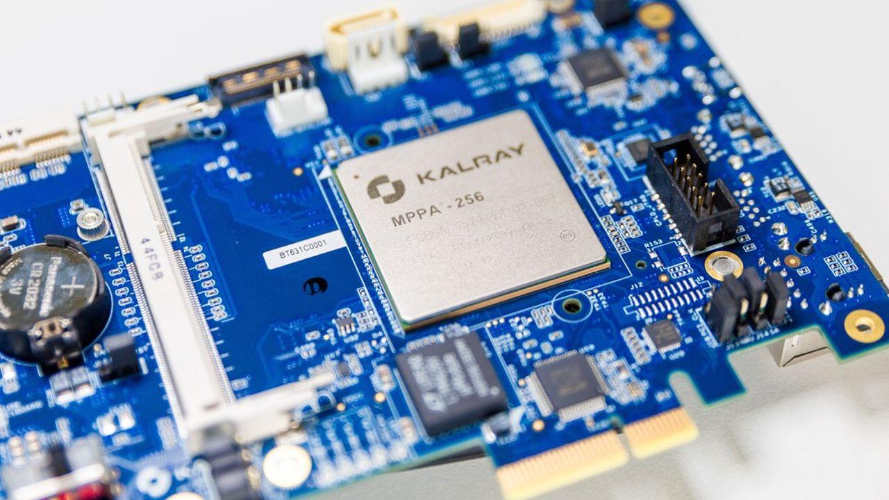 La technologie de Kalray permet defaire travailler en parallèle 256 processeurs, voire 512 ou 1.024.
