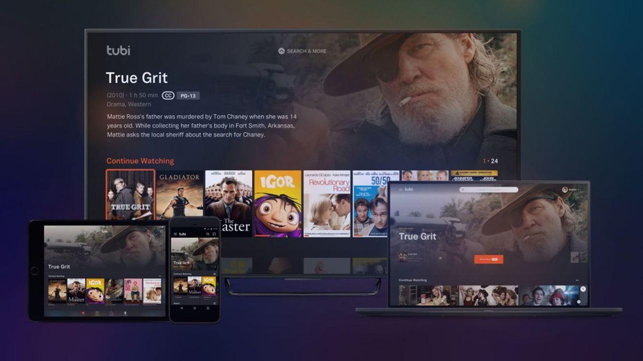Face aux géants tels Netflix, l'offre de VOD gratuite se développe