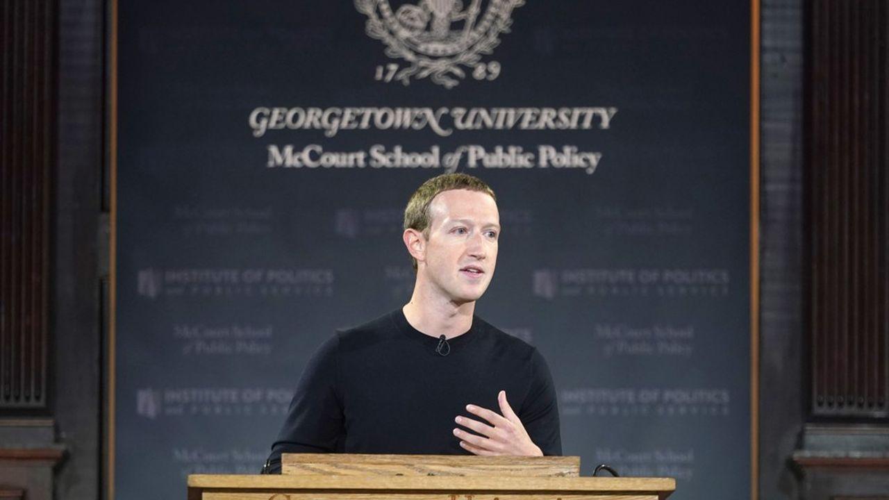 Le plaidoyer de 35 minutes, parfois alarmiste, traduit la volonté du milliardaire de replacer Facebook sous un jour favorable après plusieurs semaines difficiles.