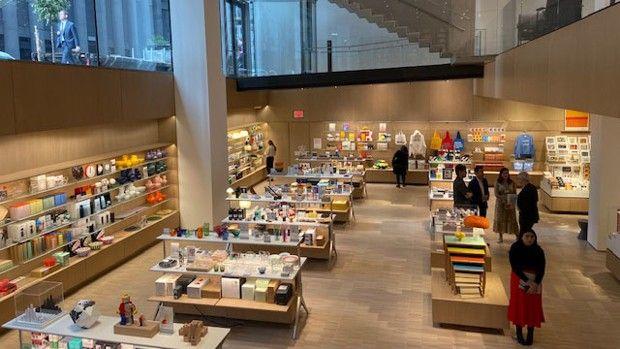 Les boutiques du MoMA ont réalisé l'an dernier 55millions de dollars de chiffre d'affaires, soit près du double des entrées du musée.