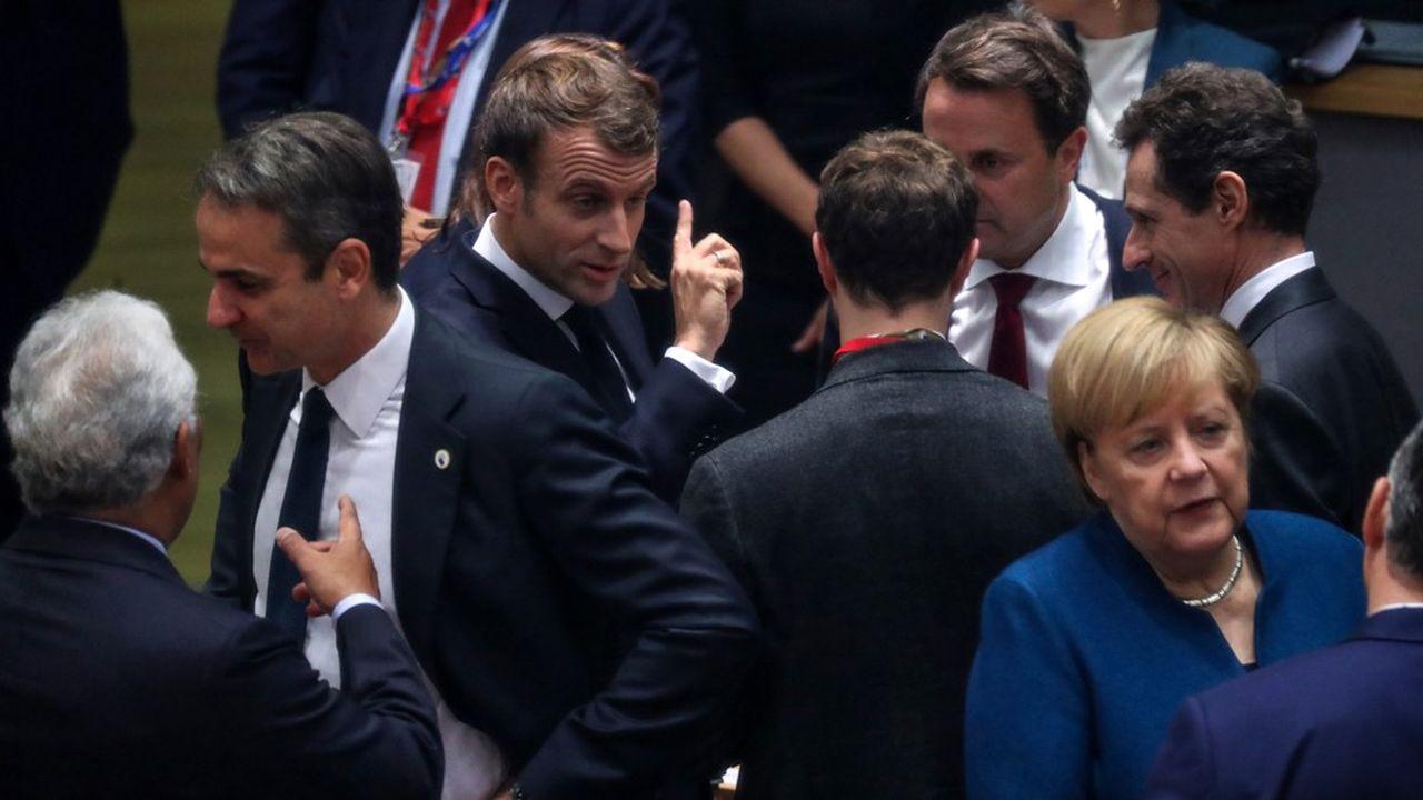 Les dirigeants européens ont pour la première fois vendredi échangé leurs positions sur la taille et le contenu souhaitables du futur cadre financier européen