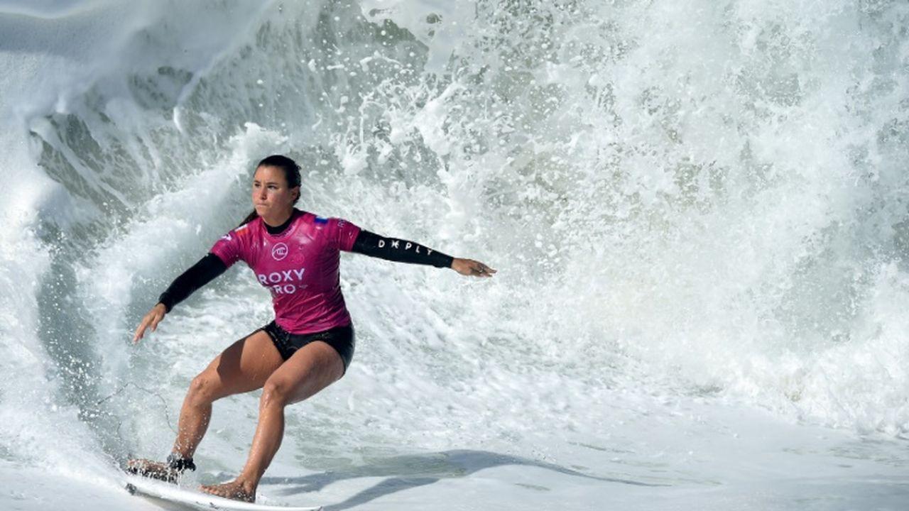 Surf: Johanne Defay qualifiée pour les JO de Tokyo