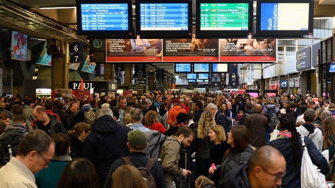 SNCF : retour à la normale sur fond de malaise social durable