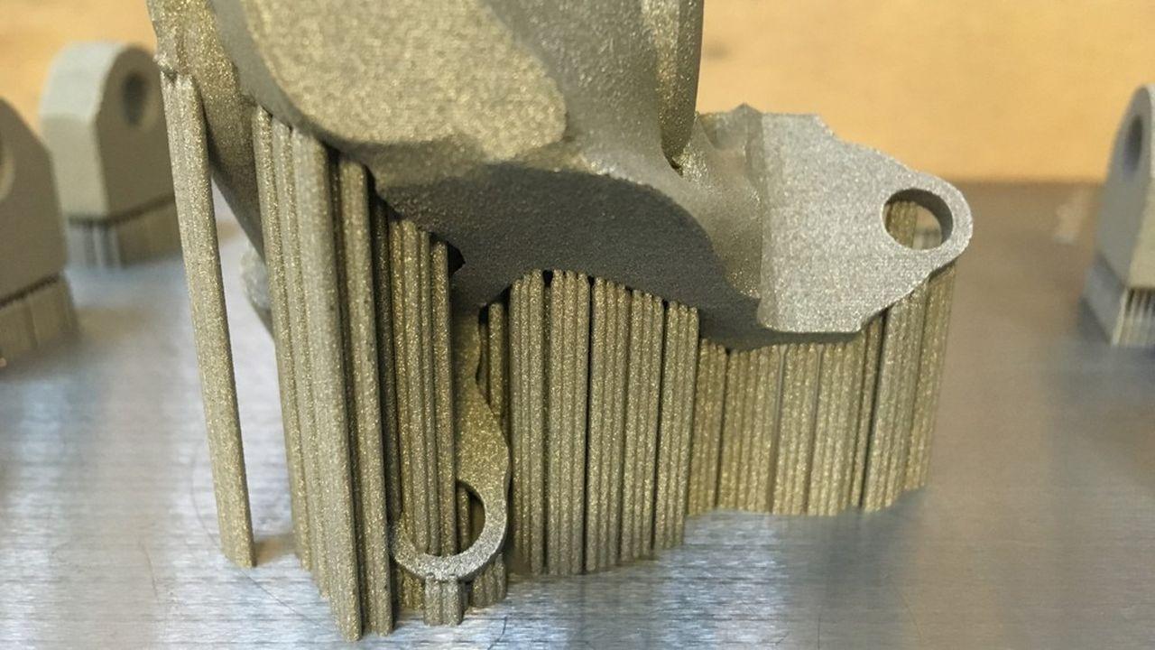 AddimAlliance possède 12machines d'impression 3D métallique de différentes technologies comme celle utilisant un lit de poudre fondu au laser.