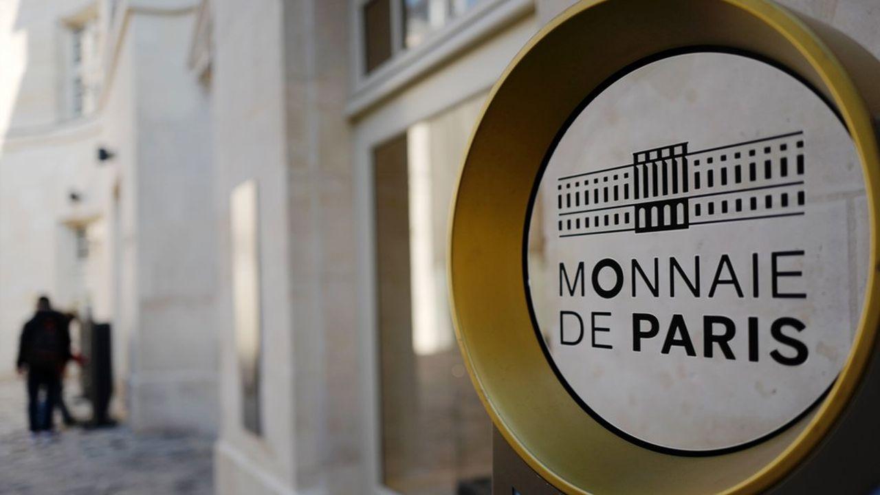La part des euros courants dans le chiffre d'affaires de la Monnaie de Paris devrait chuter et se stabiliser autour de 25% contre 30% actuellement.