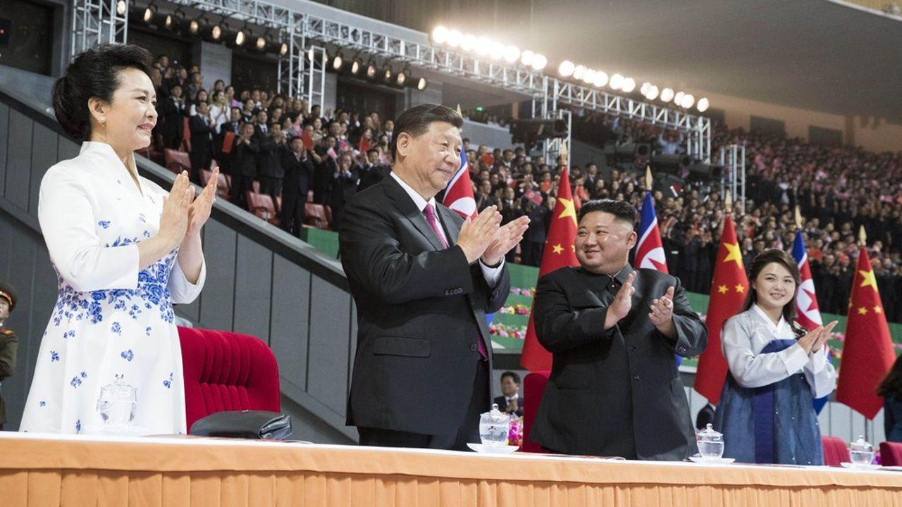 Corée du Nord : où est passée l'épouse de Kim Jong-un ?