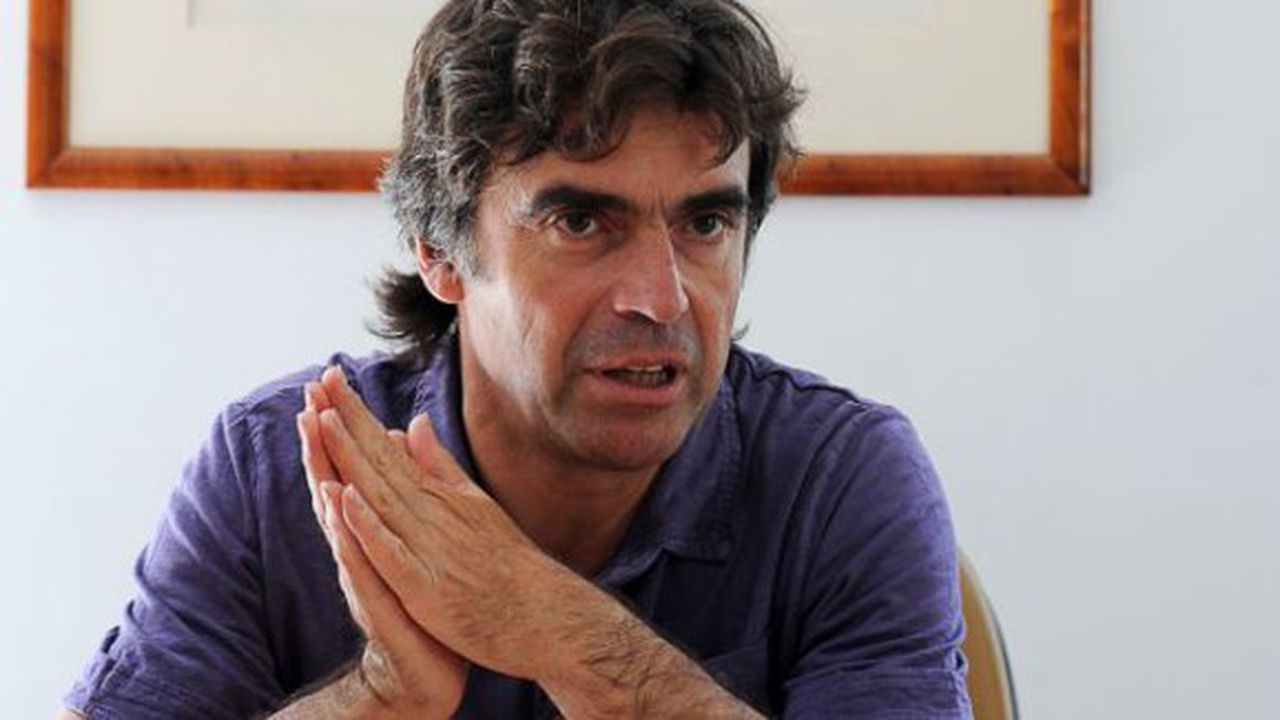 Eric Fournier, maire de Chamonix.