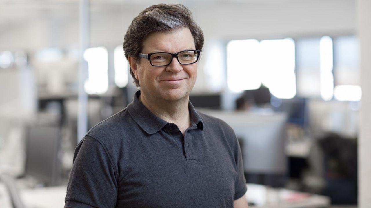 Yann Le Cun, responsable de la recherche en intelligence artificielle (IA) de Facebook, présente son nouvel ouvrage: «Quand la machine apprend».