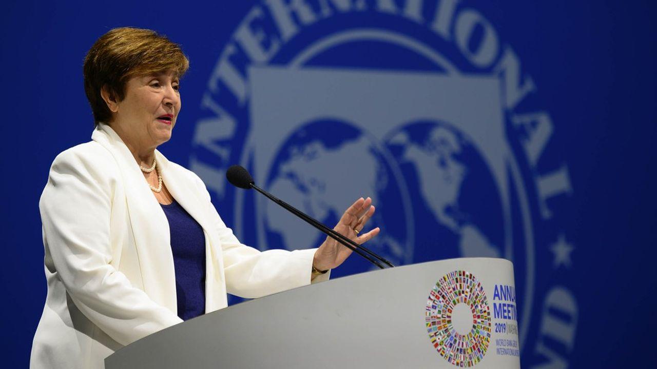 La directrice générale du FMI, Kristalina Georgieva, s'est félicitée, samedi, du maintien de la puissance financière du Fonds à environ 1.400milliards de dollars.
