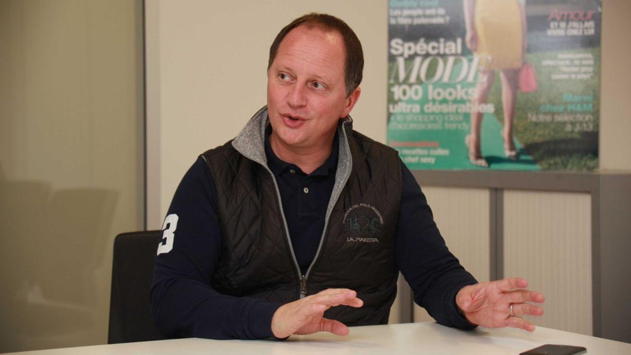 Pascal Chevalier, patron de Reworld Media.