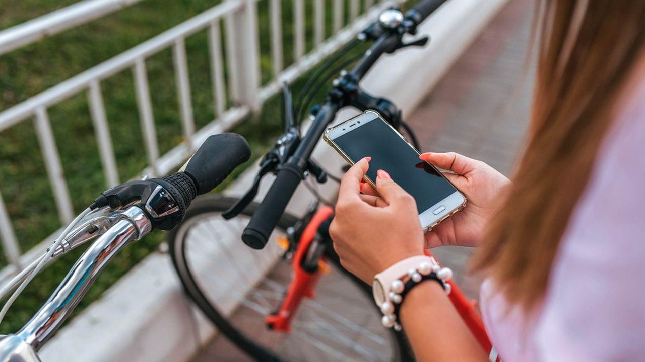 L'application propose aux cyclistes divers itinéraires, du plus rapide au plus sûr.
