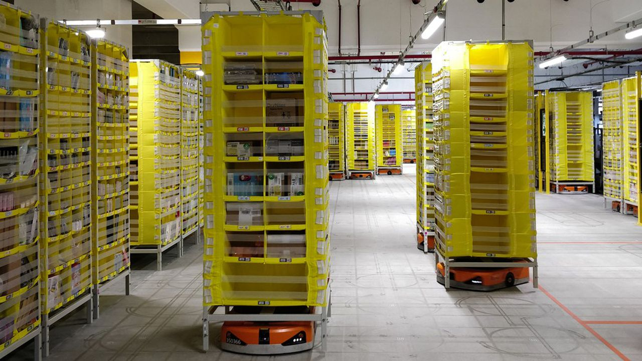 Amazon renforce encore son dispositif logistique en France