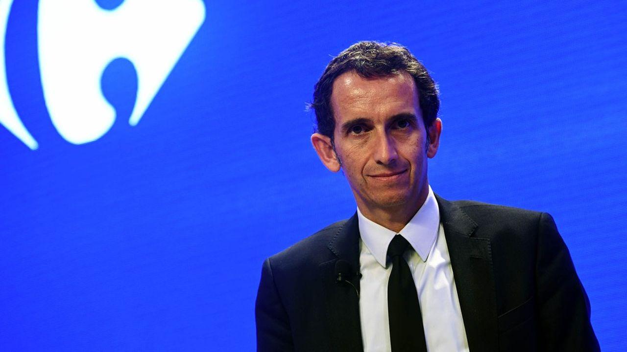 Alexandre Bompard, le PDG de Carrefour, a lancé son plan de transformation en janvier2018.