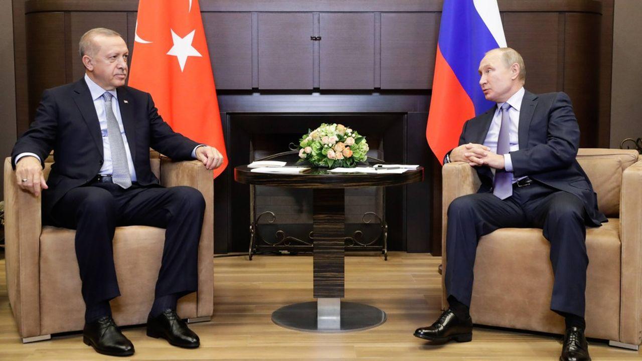 Le président turc, Recep Tayyip Erdogan, et son homologue russe, Vladimir Poutine, se sont retrouvés une nouvelle fois pour discuter de la Syrie.