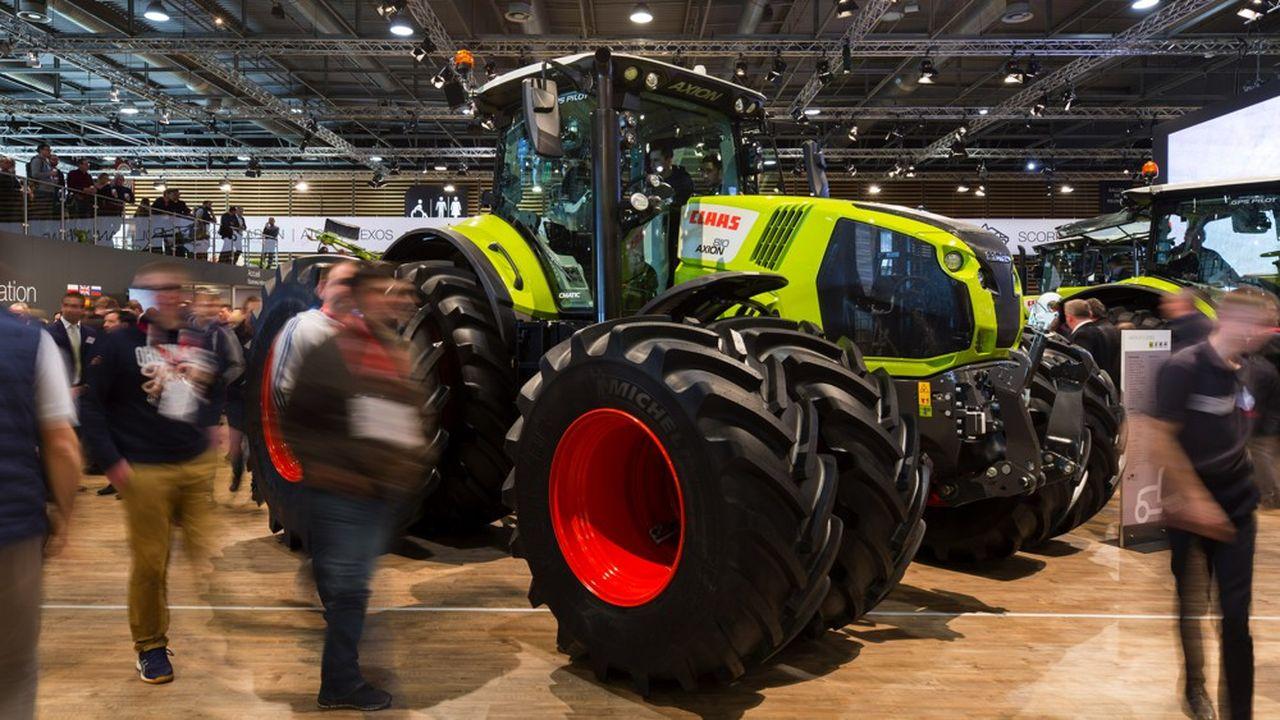 Les choix des agriculteurs montent peu à peu en gamme vers plus de technologie et de puissance, pour leurs achats de tracteurs par exemple.