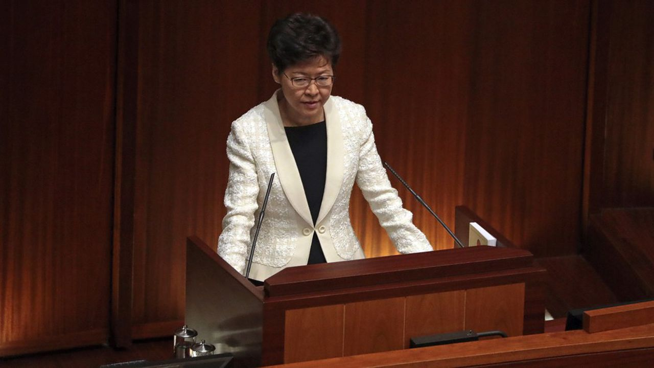 Hong Kong : le plan de la Chine pour remplacer Carrie Lam