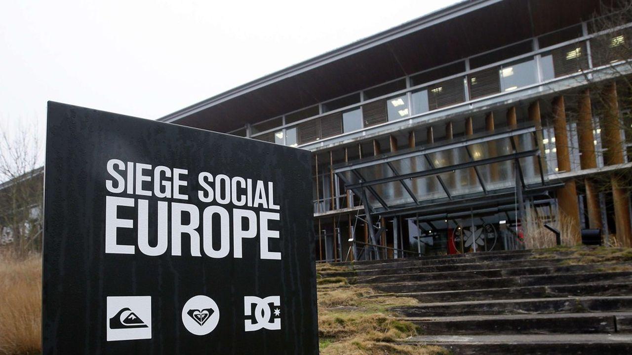 Le siège social de l'activité européenne à Saint-Jean-de-Luz va être vendu pour dégager des moyens financiers, mais restera occupé par Boardriders.
