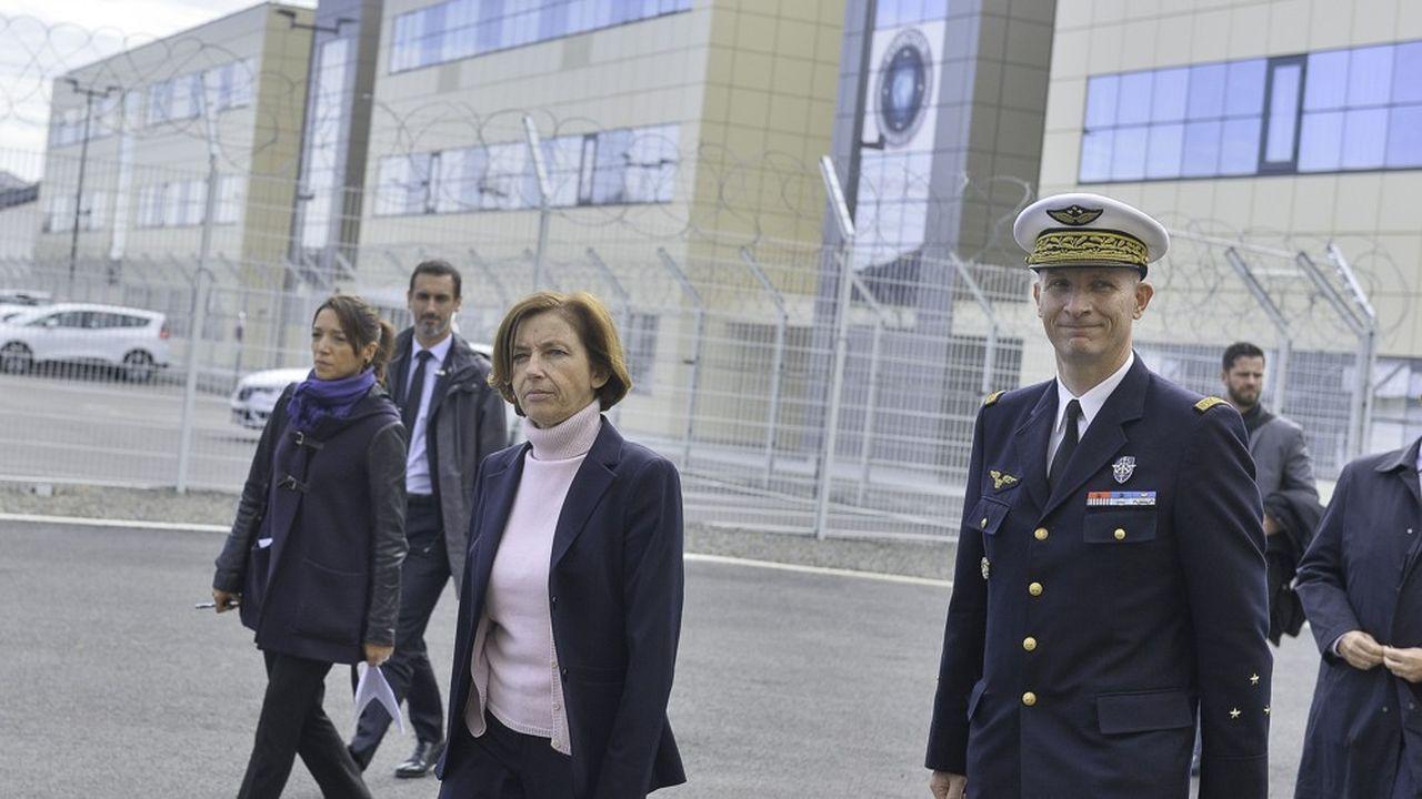 La ministre des Armées, Florence Parly, à Rennes début octobre.