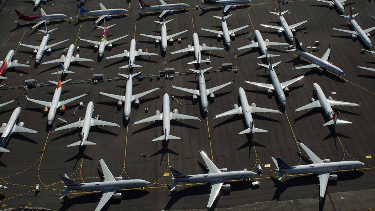 Malgré l'accumulation des mauvaises nouvelles, Boeing table toujours sur un retour en vol du… (MAX) 737 Max avant la fin de l'année.