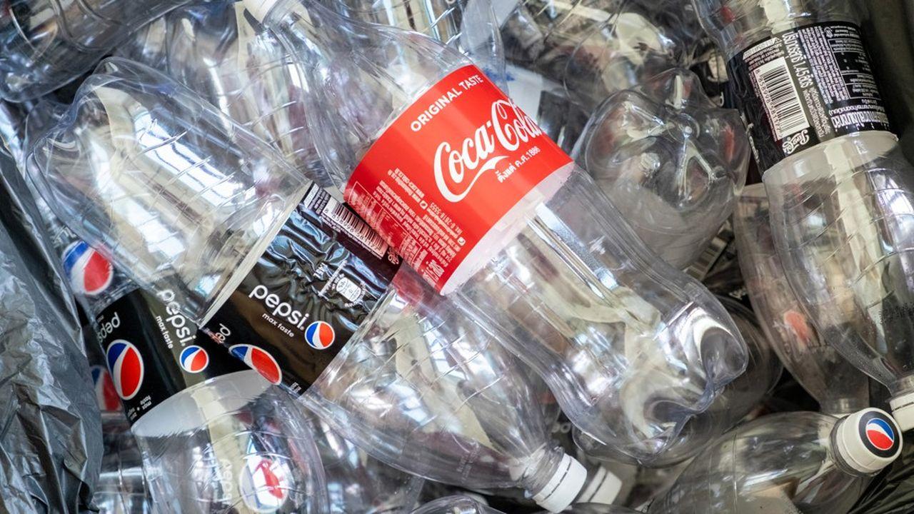 Coca-Cola et PepsiCo ont étéclassés au premier rang des pollueurs parBreak Free from Plastics.