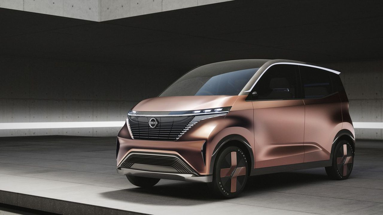Nissan a dévoilé cette semaine un concept original baptisé «IMk» qui pourrait rapidement trouver une déclinaison commerciale sur le très prisé segment des «kei cars» au Japon.