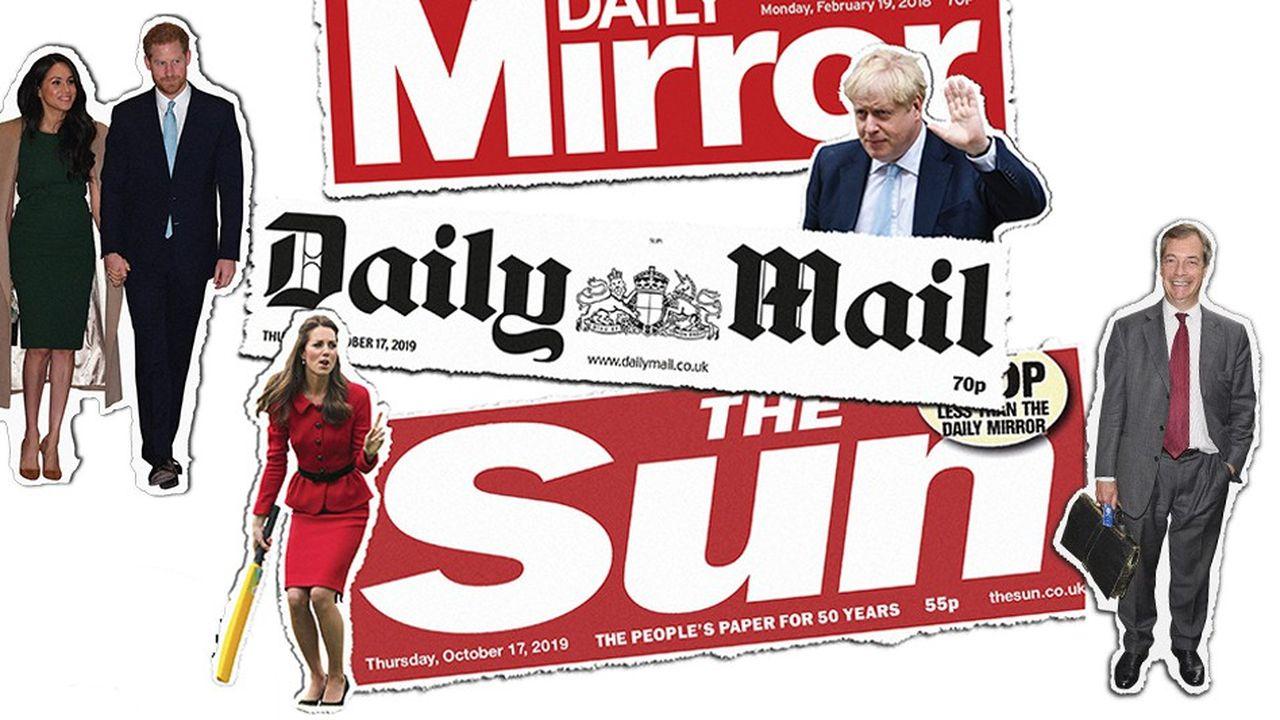 Les péripéties du Brexit ou les faits et gestes de la famille royale sont deux moteurs puissants pour la presse tabloïds.