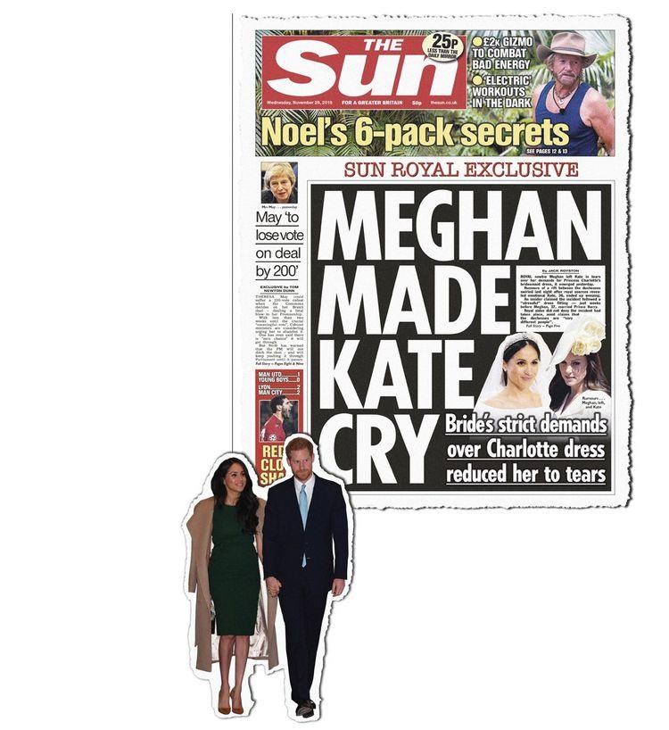 Meghan Markle est l'une des cibles favorites des tabloïds.