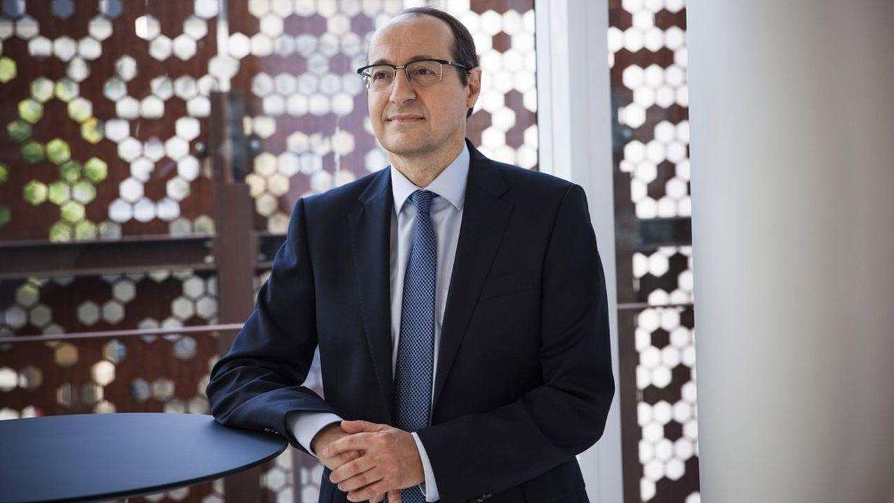 Marc Feuillée, directeur général du «Figaro» et vice-président de l'Alliance de la presse d'information générale.