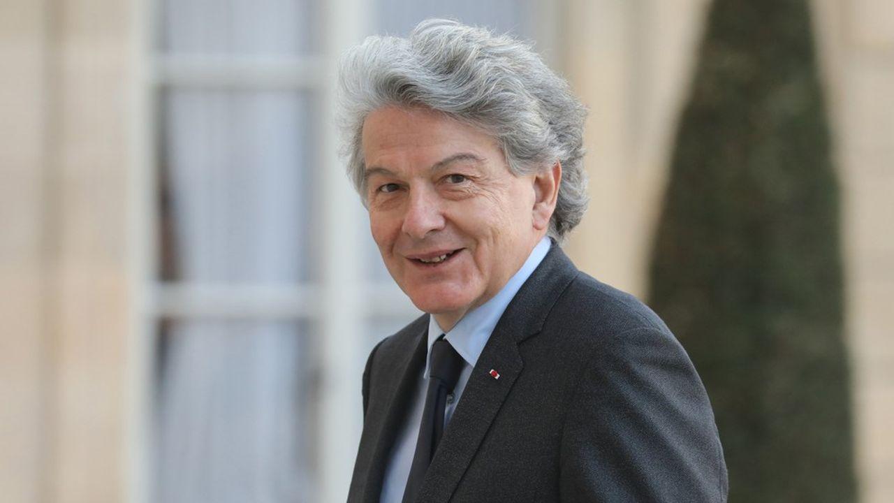 Thierry Breton, de passage ici à l'Elysée, a été ministre des Finances de Jacques Chirac entre2005 et2007.