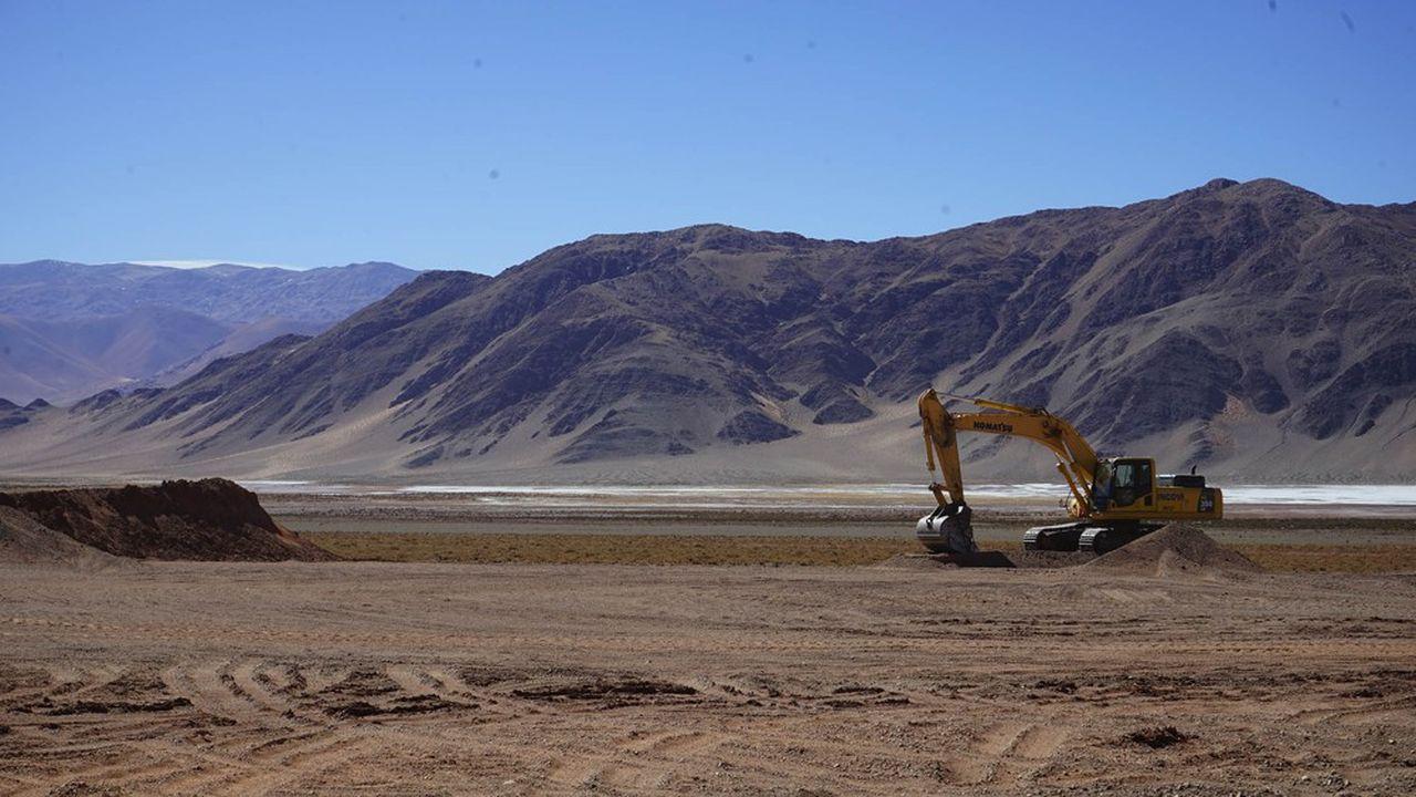 Sous la surface du salar argentin de Centenario Ratones, le gisement de lithium qu'Eramet a découvert abrite des millions de tonnes de ressources.