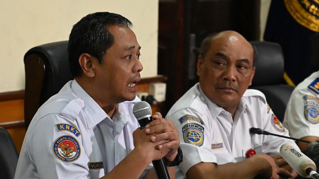 L'agence indonésienne de sécurité des transports (KNKT) recommande à Boeing de revoir la conception du système MCAS.