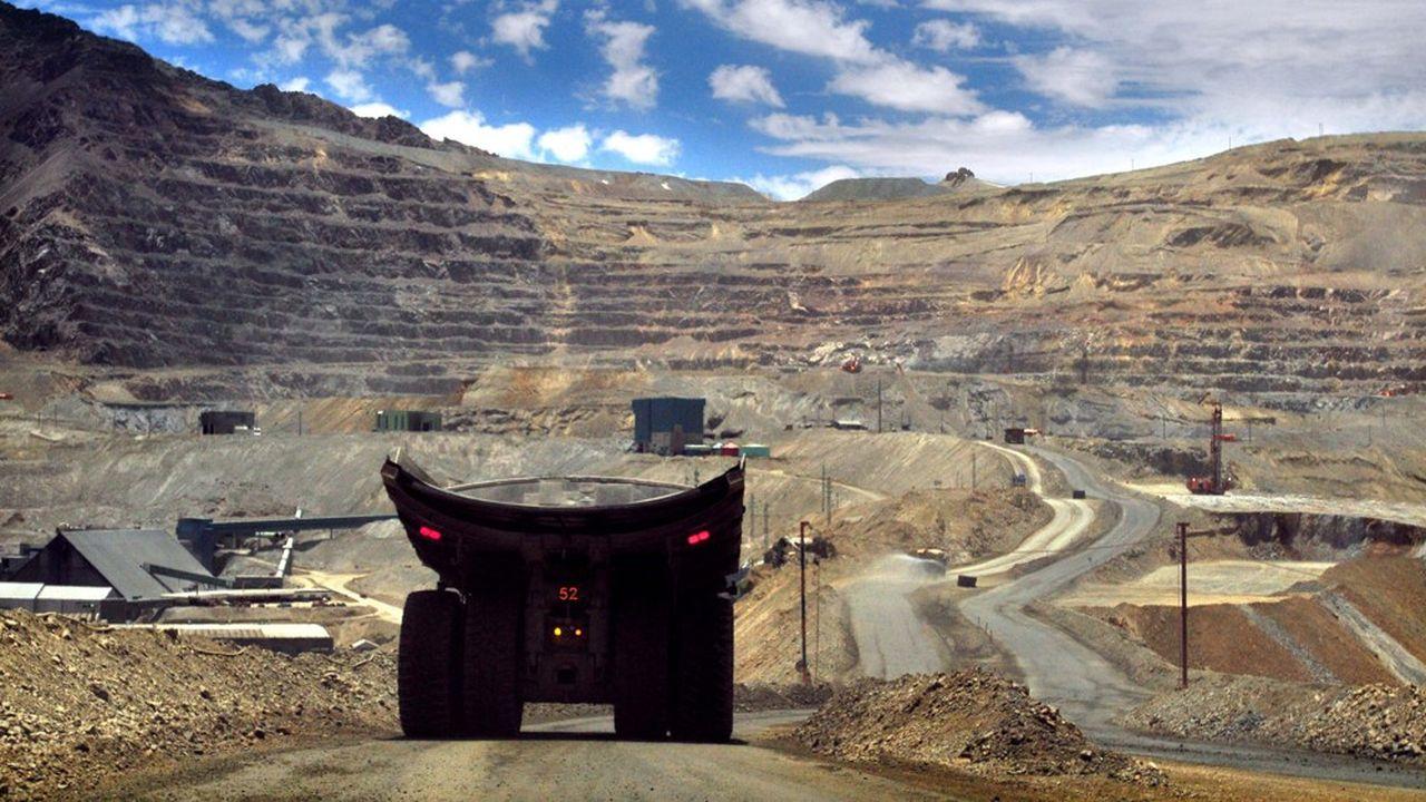 La mine de cuivre de Los Bronces au Chili. Contraint par le manque d'eau, son gérant, Anglo American, a dû revoir la production du site à la baisse.