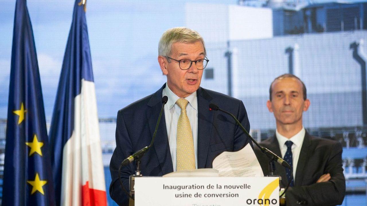 Philippe Varin souhaite se consacrer à la présidence du conseil d'administration d'Orano.