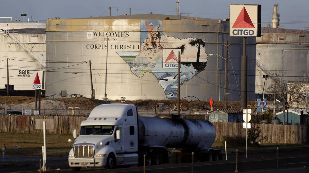 La raffinerie de Citgo à Corpus Christi au Texas