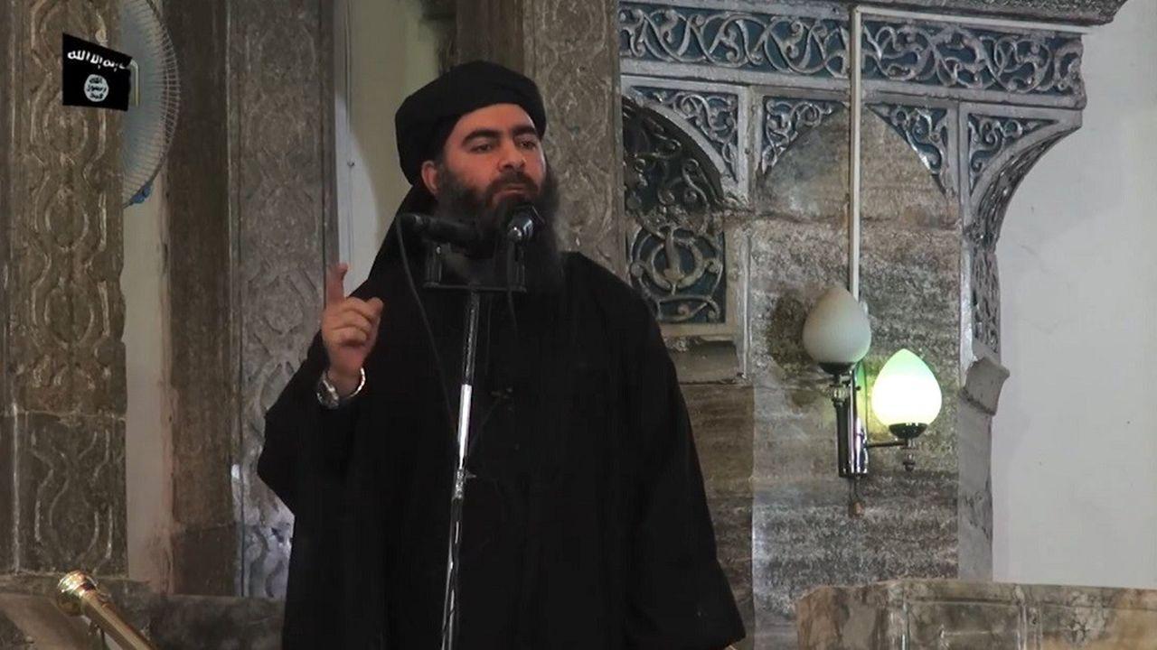 C'est à Mossoul que le chef de l'EI a fait sa seule apparition publique connue, en juillet2014, à la mosquée al-Nouri.