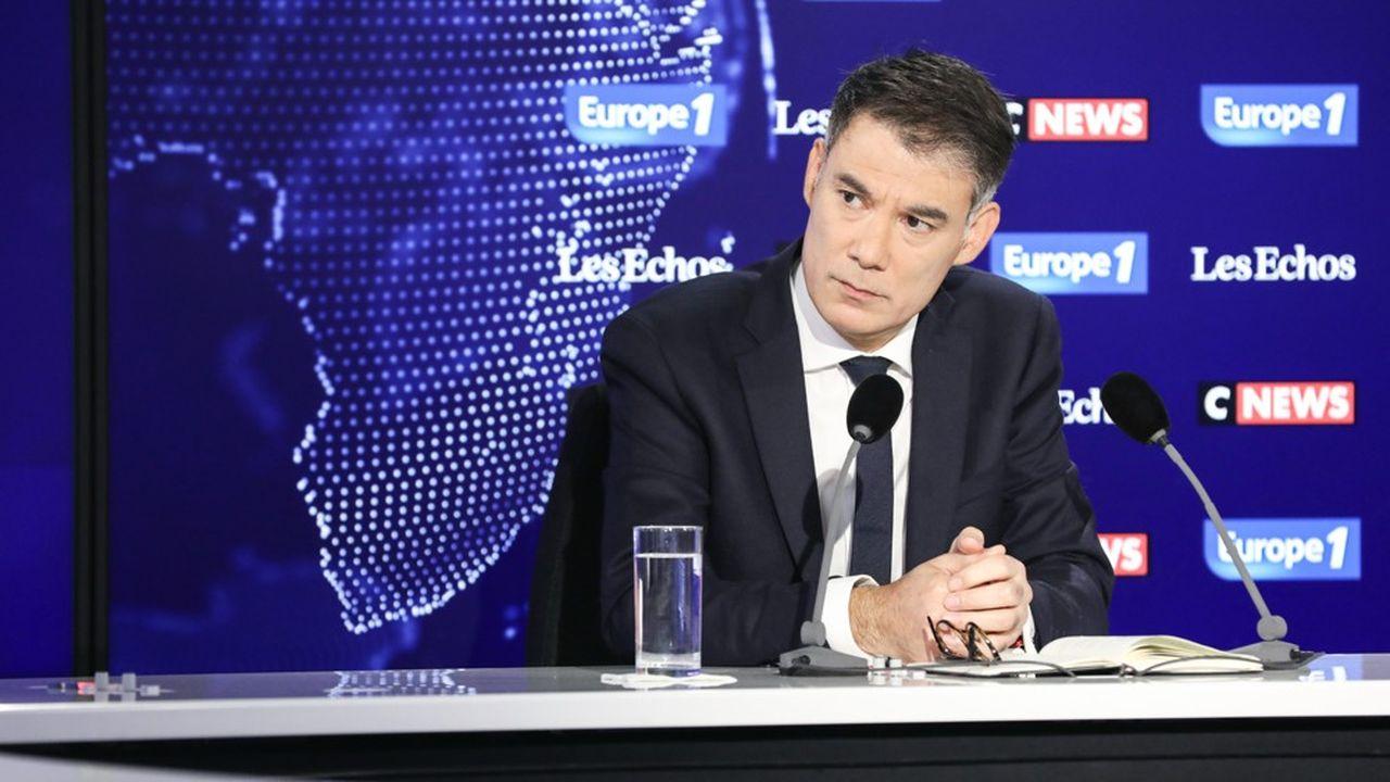 Olivier Faure, premier secrétaire du PS, était dimanche l'invité du Grand-rendez-vous Europe1-CNews-«Les Echos».