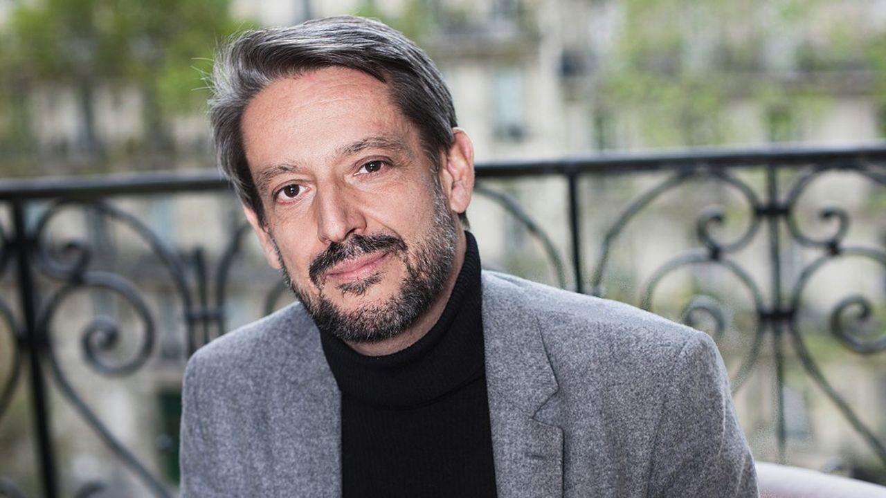 Jean-Louis Girodolle au siège de la banque Lazard le 27 octobre 2019.