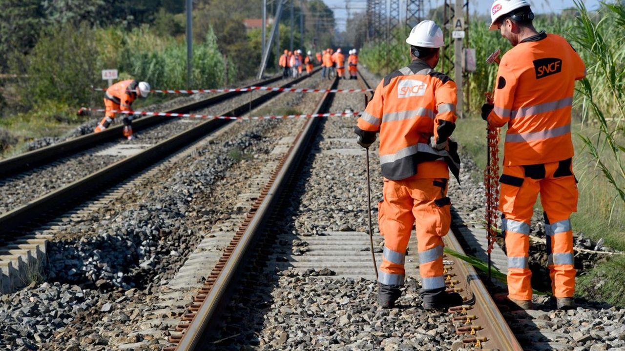 La grève d'agents de maintenance en région parisienne paralyse les TGV Atlantique.