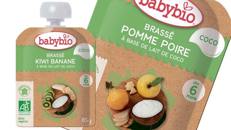 Les produits végétariens font aussi une percée dans l'alimentation infantile.
