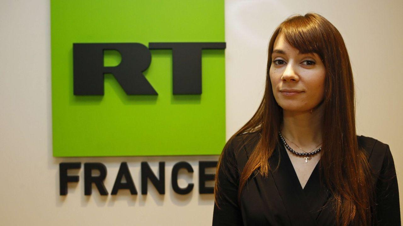 Xenia Fedorova, présidente et directrice de l'information chez RT France.