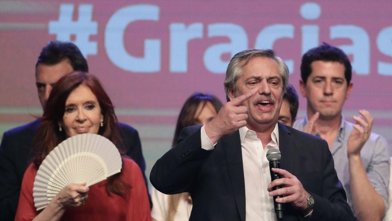 Le ticket Fernandez-Kirchner a remporté l'élection présidentielle argentine dimanche, dès le premier tour.