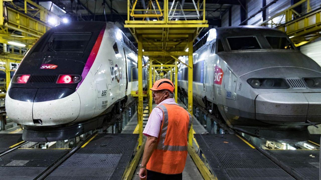 En temps normal, le réseau des TGV Atlantique représente 40% du trafic national des TGV de la SNCF. Faute de maintenance, les perturbations sont devenues sévères depuis lundi.