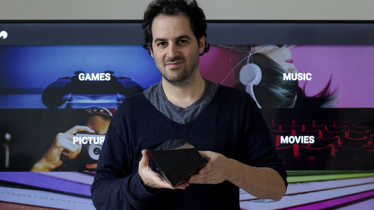 Emmanuel Freund, cofondateur de Blade, l'entreprise française qui commercialise le service Shadow d'ordinateur par Internet.