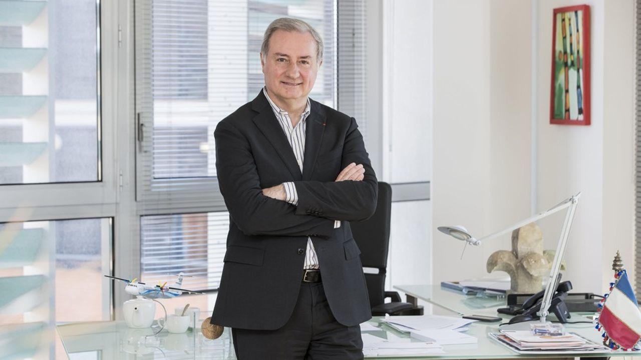 Jean-Luc Moudenc, le maire sortant de Toulouse.