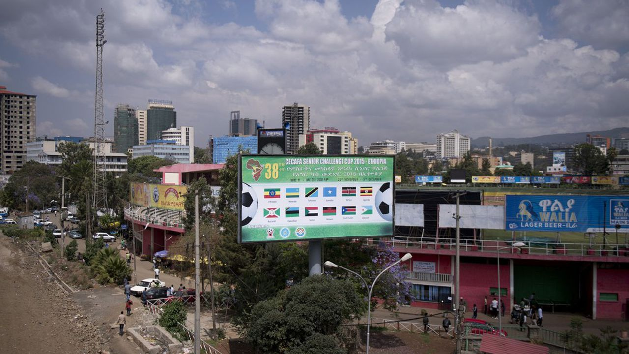 A Addis-Abeda, la capitale de l'Ethiopie.