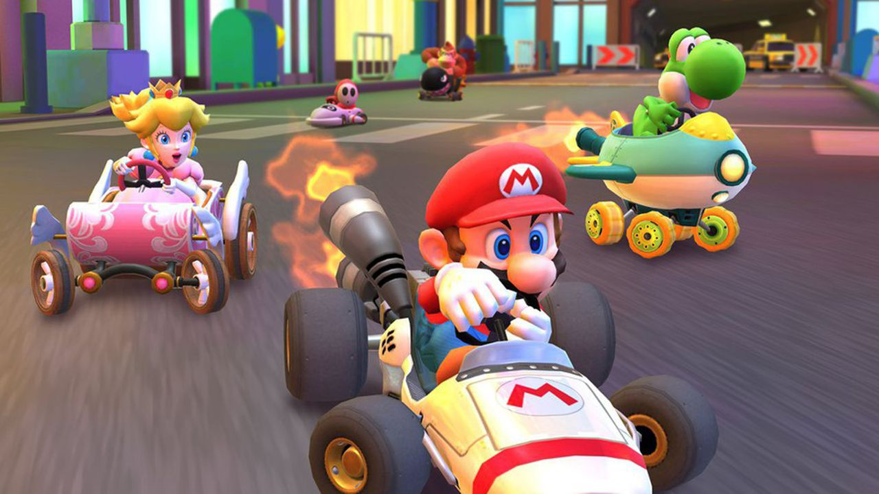 124 millions de téléchargements pour le premier mois — Mario Kart Tour
