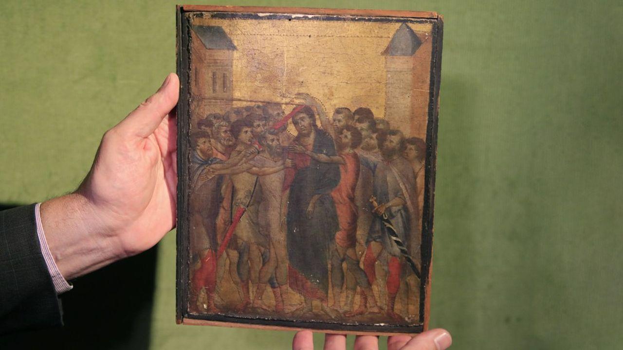 Ce primitif italien devient l'oeuvre la plus chère vendue aux enchères cette année.