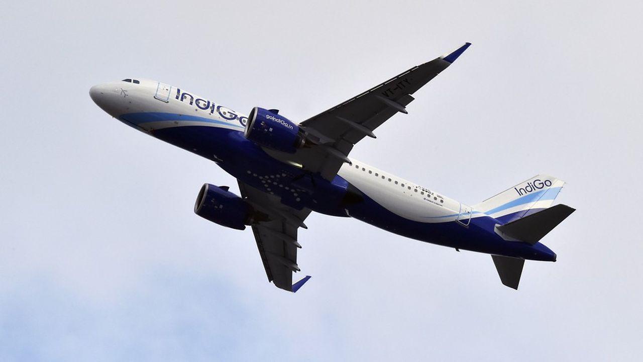 IndiGo opère en grande majorité des vols domestiques.