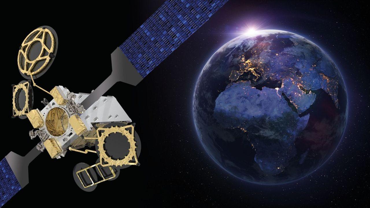Développé à partir de la plateforme Spacebus Neo de Thales Alenia Space, le satellite Eutelsat 10B doit être lancé en 2022 et fournira les services à haut débit sur l'Europe, le bassin méditerranéen, le Moyen-Orient, l'Atlantique, l'Afrique et l'océan Indien.
